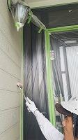 7-24外壁下塗りミラクシーラーECO塗布2回目