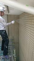 5-30壁面(SKミラクシーラーECO)下塗り吹き付け塗布�