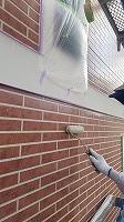 8-23外壁UVプロテクトクリヤー1回目塗装 (9)