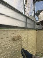 9-26外壁4Fフッ素上塗り2回目塗布 (3)
