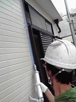 5-24サッシ廻りシール工事のシール充填作業