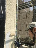 9-25外壁上塗りフッ素塗布1回目4