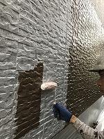 9-23壁面(SK水性ソフトサーフ)中塗り塗装3
