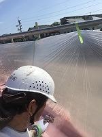 8-31屋根ハイポンファインデクロ下塗り塗装 (2)