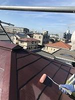 9-13大屋根ミラクシーラーEPO下塗り塗装(3)