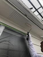 6-11軒天井上塗りケンエース塗布2回目3