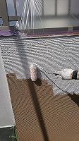 8-26外壁中塗りソフトサーフ塗布 (2)
