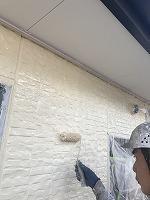 9-25外壁上塗りフッ素塗布2回目4