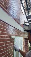 8-24外壁UVプロテクトクリヤー3回目塗装 (1)