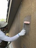 5-12外壁SKミラクシーラーECO下塗り塗装 (2)