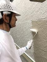6-20外壁ソフトサーフ塗布3