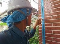 9-6外壁エポキシ系プライマー下塗り塗布