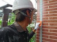 9-6外壁仕上げ均し作業