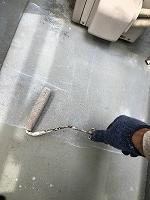 9-4ベランダ床ミラクシーラーECO下塗り塗装(1)