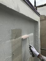 4-29壁面(カンペアレスダイナミックフィラー)中塗り塗装 (7)