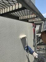 8-30外壁ラジカルコートパーフェクトトップ上塗り2回目塗装(3)