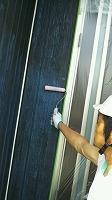 7-8外壁下塗りミラクシーラーECO塗布