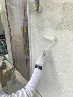 5-16壁面(SK水性ソフトサーフ)中塗り塗装2回目 (5)