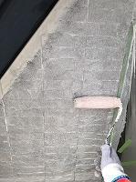 9-23南面、壁面(SK水性ソフトサーフ)中塗り塗装2回目5