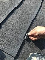 8-23ペントハウス屋根タスペーサー取り付け作業(2)