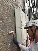 9-20外壁ミラクシーラーECO下塗り塗布 (9)
