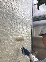 9-26外壁4Fフッ素上塗り2回目塗布(4)