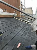 8-25大屋根ミラクシーラーEPO下塗り2回目塗装(2)