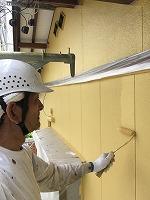 5-7東面外壁上塗りダイナミックトップ塗布3回目 (2)