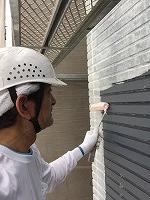 6-20外壁ソフトサーフ塗布4
