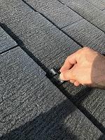 8-23ペントハウス屋根タスペーサー取り付け作業(1)
