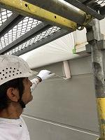 9-14外壁ソフトサーフ中塗り塗装 (3)