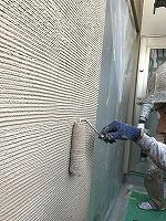 8-26南面外壁上塗りガイナ塗布3回目 (5)