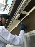 9-1軒天井ケンエース上塗り1回目塗装(2)