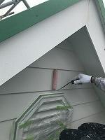 6-10外壁下塗りミラクシーラーECO塗布4