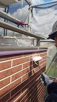 8-24外壁UVプロテクトクリヤー3回目塗装 (6)
