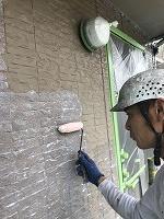 9-20外壁ミラクシーラーECO下塗り塗布 (2)