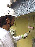7-5外壁ミラクシーラーECO下塗り塗布 (1)