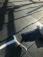 8-30大屋根、変性シリコンクラック補修作業(2)