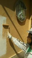 7-14外壁ダイナミックトップ1回目塗布