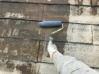 5-9屋根下塗り2回目
