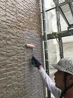 9-20外壁ミラクシーラーECO下塗り塗布 (10)