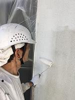 5-27外壁上塗りガイナ塗布 (4)