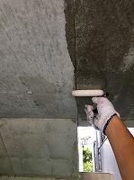 8-22駐車場ミクロンガード上塗り3回目塗装(2)