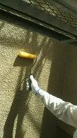 8-12外壁下塗りミラクシーラーEPO塗布