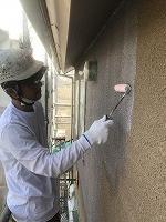 5-12外壁SKミラクシーラーECO下塗り塗装 (6)