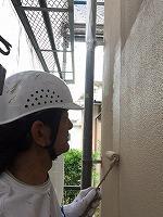 6-10外壁上塗りガイナ塗布2回目 (4)