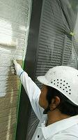 4-27外壁中塗りソフトサーフ