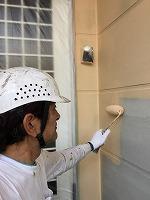 9-18外壁1階部分上塗りガイナ塗布1回目 (3)