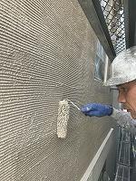 8-30外壁色変え部ラジカルコート上塗り2回目塗装 (2)