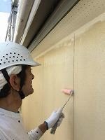 6-5外壁エポキシ系シーラー下塗り塗布2